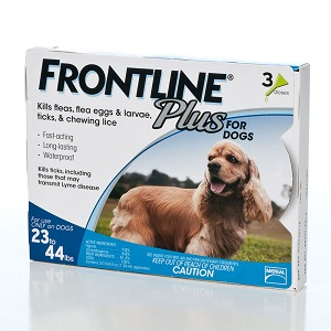 Frontline Plus for Dogs 23-44lbs
